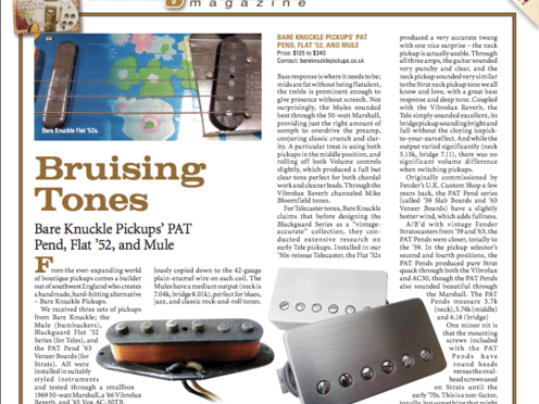 Product Reviews | Bare Knuckle Pickups
