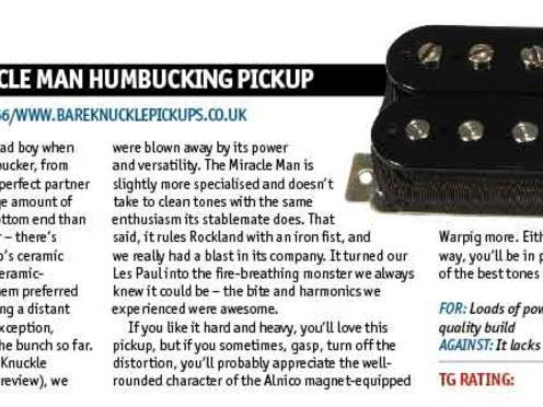 Miracle Man humbucker | Bare Knuckle Pickups